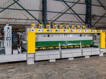 Line polishing machines